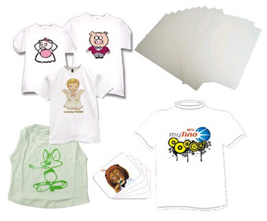 Inkjet heat transfer paper for 100% cootton